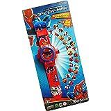 DECORVAIZ Generic Digital 24 Images Spiderman Projector Watch for Kids(Unisex, Assorted Design)