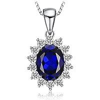 JewelryPalace Donna Gioiello Principessa Diana William Kate Middleton Ciondolo Collana Pendente 45cm Argento Sterling…