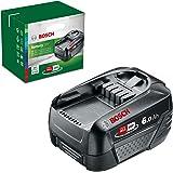 Bosch accu PBA 18 V 6,0 Ah W-C (18 volt-systeem, 6,0 Ah accu, in doos)