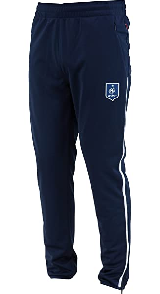 Collection Officielle Taille Enfant gar/çon Equipe de FRANCE de football Pantalon Molleton FFF