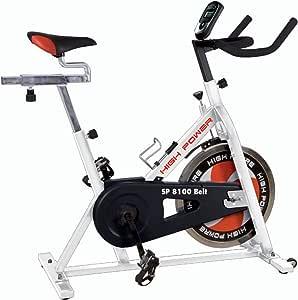HIGH POWER Cyclette HPSP8100BELT Bianco/Nero