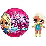 LOL Surprise Color Change Muñecas Sorpresa con 7 sorpresas, Divertidos Efectos de Cambio de Color en Agua muy Fría y Accesori