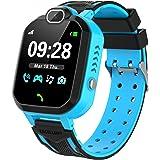 Reloj Inteligente Niño, Teléfono con Juego Cámara Música Despertador Modo Escuela Llamadas SOS Smart Watch Reloj Inteligente