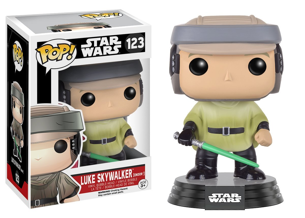 Funko Pop Luke Skywalker en Endor (Star Wars 123) Funko Pop Star Wars