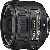 Nikon 50mm f/1.8G Auto Focus-s Nikkor FX Objektiv–(Zertifiziert aufgearbeitet)