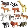 luminiu Dierfiguren, dierspeelgoed, jungle dier speelgoed set, dier speelgoed speelgoed dierspellen dierentuin figuren plast