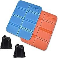 Aubey, 2 cuscini termici per esterni, pieghevoli, per esterni, per bambini, impermeabili, ideali per la caccia, per il…