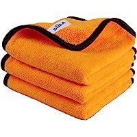MR.SIGA Chiffons en microfibre pour le nettoyage domestique et les voitures, chiffons de polissage pour l'entretien…