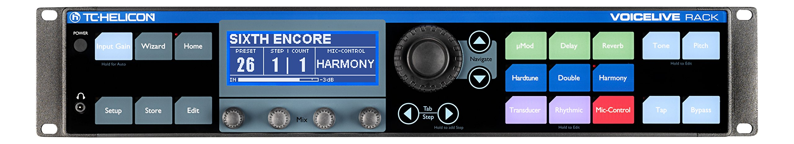 TC Helicon 996355005 Voice Live Rack