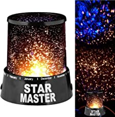InSale Master Projector - LED Colorful Star Master Sky Starry Night Light Cosmos Master Projector Lamp For Children Gift Led USB Projection lamp