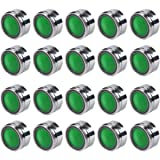 Tefeler 20 Stück Strahlregler M24 Mischdüse Luftsprudler für Wasserhahn Mischdüse mit ABS-Filter