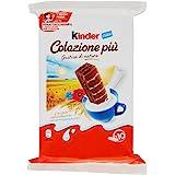 Kinder Colazione Più - 4 confezioni da 10 snack [40 snack, 1200 g]