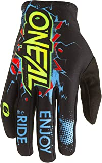 0391-207 Oneal Matrix 2020 Attack Youth Motocross Gloves XL Black Neon Yellow