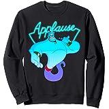 Disney Aladdin Genie Applause Neon Light Sweatshirt