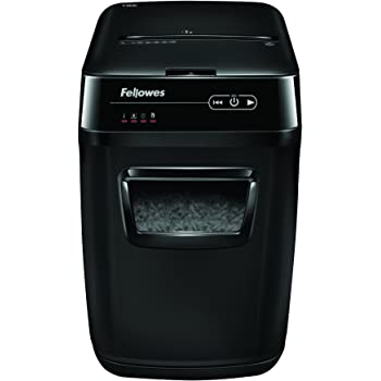 Fellowes Distruggidocumenti Automax 130C, a Frammenti, Nero