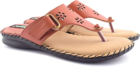 Denill Latest Collection, Comfortable Women's Synthetic Slippers | Ladies Slippers | Beige Soft Bottom Slippers | Doctor Sole | Casual Slippers |Doctor Chappal | Doctor Flats