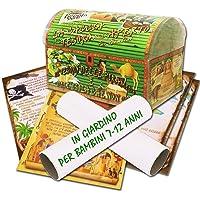 Caccia al tesoro in scatola in giardino - in spiaggia o casa/giardino 7-12 anni - per feste di compleanno - giochi per…