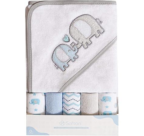 Cuddly Eltern Proud Hooded Bath Towel 80/x 80/cm /Ökotex certified Embroidered