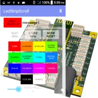 LedStripScroll WS2812B Controller App