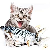 Fairwin Pesce Giocattolo per Gatto, Catnip Giocattoli per Gatti, Giocattolo interattivo Gatto, Simulazione Peluche di…