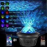 LED Sternenhimmel Projektor - Aibeau LED Sternenlicht Projektor mit Fernbedienung & Bluetooth Lautsprecher & Timer, Rotierend