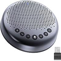 eMeet Bluetooth Konferenzlautsprecher - USB Freisprecheinrichtung für 5-10 Personen, Speakerphone 360° Spracherkennung…