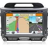 YUNTX Android 10 autoradio voor KIA SPORTAGE (2010-2015) radio met GPS navigatie ondersteunt Bluetooth   DAB+   USB   Carplay