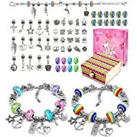 BYTOKI Kit de Fabrication de Bracelet Bracelet Fille, Creation Bijoux Fille - Meilleur Cadeau