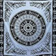 Tapestry Wall Hanging Elephant Black And White Tiger Throw Indian Mandala