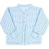 Babyprem Premature Baby Cardigan Jacket Lacy Knitted Acrylic 3-8lb