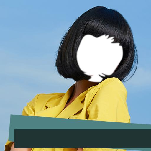 Frauen Frisur Foto Montage