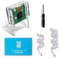 LABISTS B01 Raspberry Pi Camera Module 5M 1080P, Pi Camera avec Étui de Protection et 2 Nappes, Raspicam Compatible avec Rasbperry Pi 4, Pi 3B+ / B, Pi 2B, Pi Zero pour Divers Projets