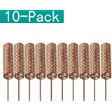 Youmile 10-Pack 433MHz antenna Helical Spiral Spring Remote Control for Arduino Raspberry 5mm