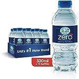Al Ain Zero, Bottled Drinking Water - 330ml (Pack of 12)