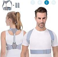 Anoopsyche Correttore Postura Spalle Supporto Postura Schiena Traspirante Regolabile, Fascia posturale Spalle e Schiena...