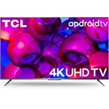 TCL 108 cm (43 inches) AI 4K Ultra HD Certified Android Smart LED TV 43P715 (Sliver) (2020 Model)