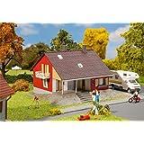 Faller Hobby H0, 131355 Wohnhaus mit Terrasse, Miniaturwelten Bausatz 1:87