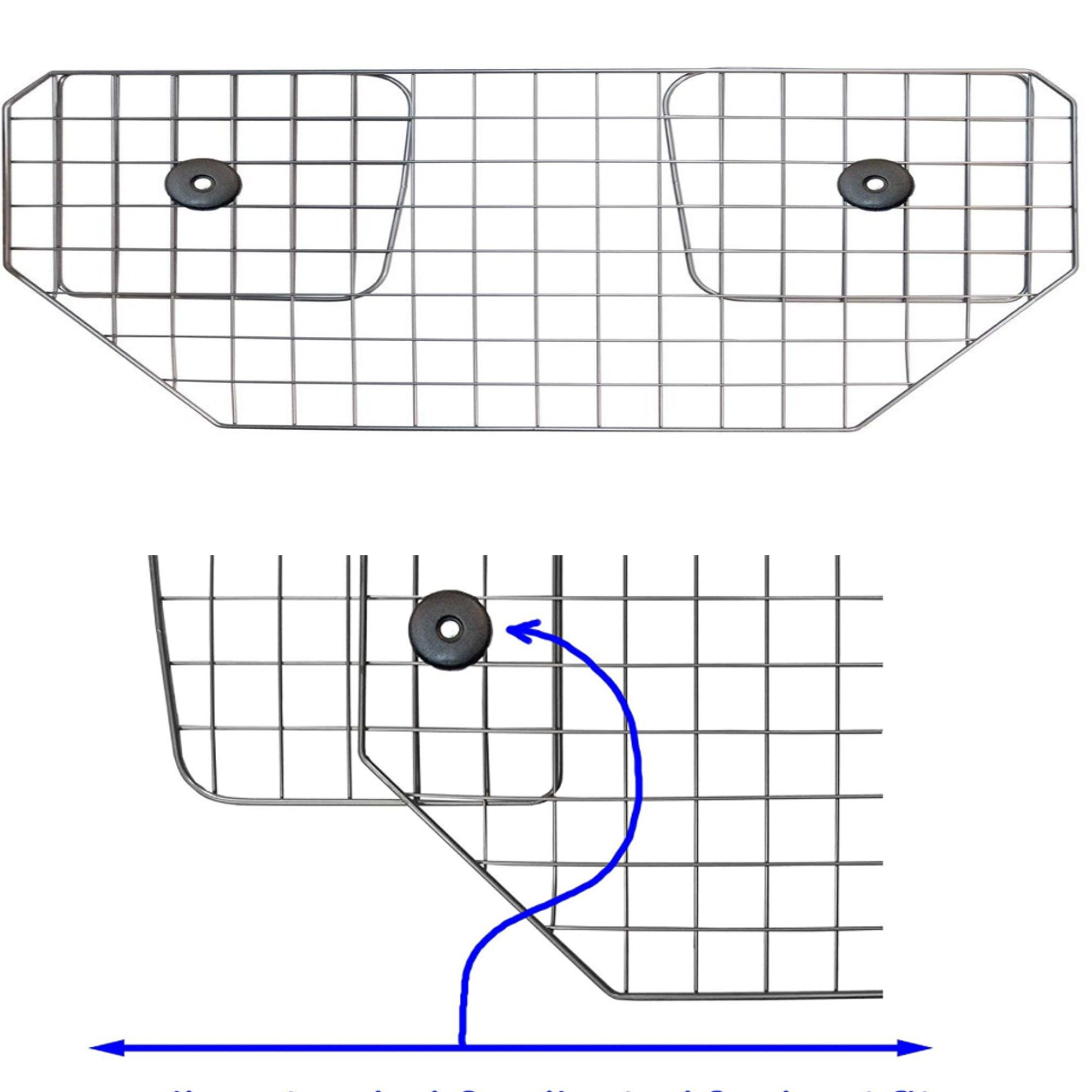 Headrest Wire Mesh Dog Guard To Fit Ford S-Max 5 Door Bargain!! 06-13