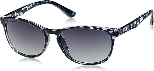 Fastrack Gradient Rectangular Women Sunglasses (P284BK2|50.2|Black Gradient)