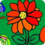 Live Coloring Book for Adults - Color Garden