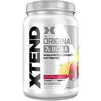 Poudre XTEND Original aux BCAA - jus de fruit | complément alimentaire aux acides aminés ramifiés | 7 g de BCAA…