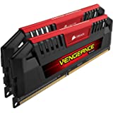 Corsair CMY16GX3M2A1600C9R Vengeance Pro Series 16GB (2x8GB) DDR3 1600Mhz CL9 XMP Performance Desktop Memory Kit Red