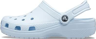 Crocs Unisex Classic Clogs, Mineral Blue, UK M2/W3