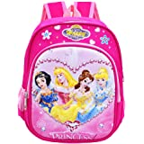 Babioms Mochilas Escolares, Material Escolar para Niñas, Mochila Infantil con Princesa 3D, Mochila Rosa de Gran Capacidad, Ox