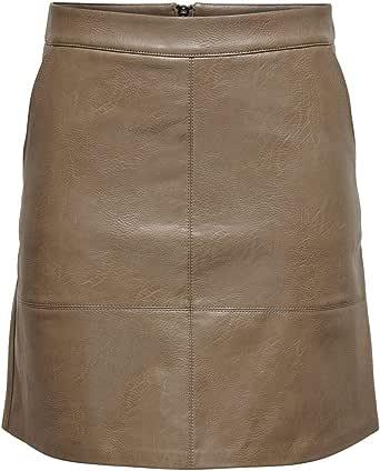 Only Onllisa Faux Leather Skirt CC Otw Gonna Donna