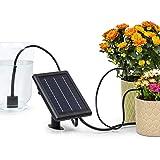 blumfeldt Greenkeeper Solar - Impianto d'Irrigazione, Pannello Solare, Batteria: 1500 mAh, Ecologico, Fino a 40 Piante, Filtr