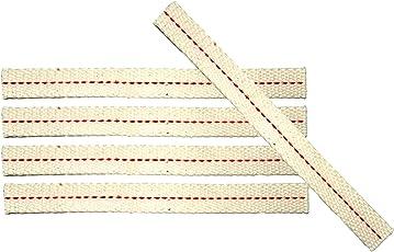 Feuerhand Flachdocht 12,5 mm x 12 cm im 5er Pack