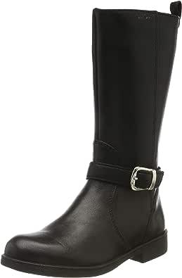 Geox Jr Agata F, Stivali da Equitazione Bambina