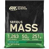 Optimum Nutrition Serious Mass, Mass Gainer avec Whey, Proteines Musculation Prise de Masse avec Vitamines, Creatine et Gluta