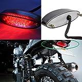 Moto Rouge LED Arrière Feu Stop & Plaque d'immatriculation lumière pour Cruiser Bike ATV